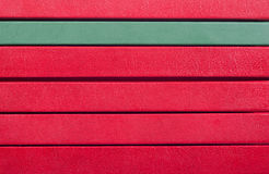 Books spines. Stack of books spines - background and copyspace Royalty Free Stock Photography