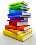 Books Stack Royalty Free Stock Photography
