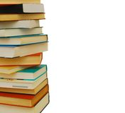 Books stack library royalty free stock images