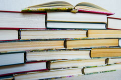 Books. Stack of books.A pile of books royalty free stock photography