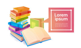 Books Stack School Education Concept Royalty Free Stock Photography