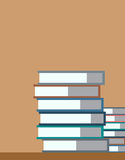 Books stack. Vector isolated. School objects, or Stock Photos