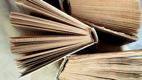 Books. Stack of books, view from above Royalty Free Stock Images