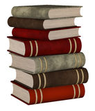Books stacked Royalty Free Stock Photos