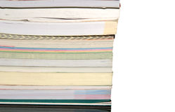 Books stacked Royalty Free Stock Photo