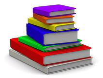 Books are stacked Royalty Free Stock Images