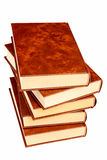 Books stacked Stock Image