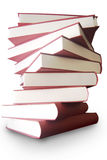 Books stacked up Royalty Free Stock Images