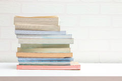 Books stacking Royalty Free Stock Photos