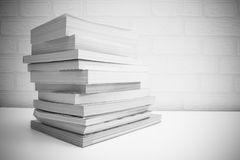 Books stacking Stock Images
