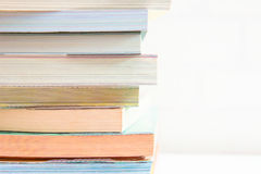 Books stacking Stock Photo