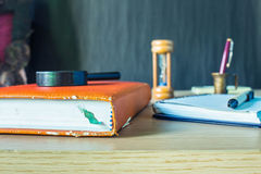 Books and stationery Royalty Free Stock Photography