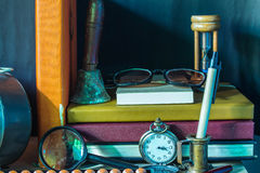 Books and stationery Stock Images