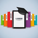Books step education infographic vector design template Stock Photo