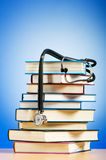 Books and stethoscope Royalty Free Stock Image