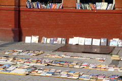 Books Street Sale Royalty Free Stock Photo