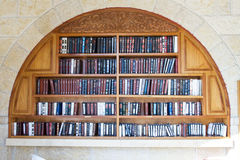 Books in the synagogue . Royalty Free Stock Photography