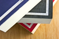 Books on the table. Pile of books on the table Royalty Free Stock Photography