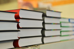 Books on table Royalty Free Stock Photography