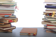 Books on table Stock Photos