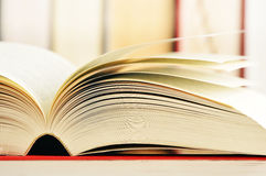 Books on the table Royalty Free Stock Images