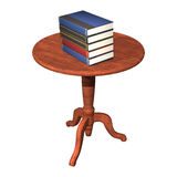 Books on the Table royalty free illustration