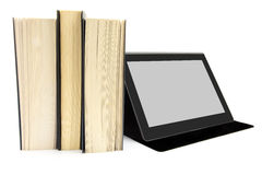 Books and a tablet device Royalty Free Stock Image