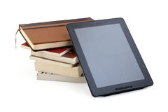 Books tablet PC Royalty Free Stock Photo