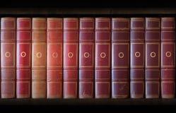 books tappning Arkivbild