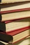 books tappning Arkivbilder