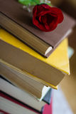 Books and textbook Stock Photography