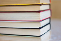 Books and textbook Stock Photo