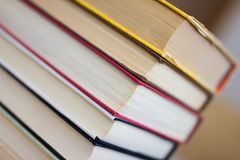 Books and textbook Royalty Free Stock Photos