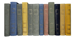 Books texture. History old books library shelve texture royalty free stock image