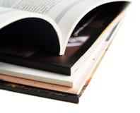books tidskrifter Arkivbilder