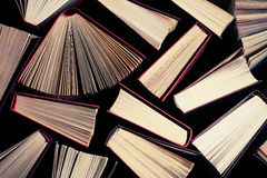 Books  toned with a retro Stock Photography