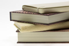 Books on top of Each Other Stock Images