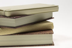 Books on top of Each Other Stock Photo