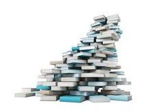 Books tower Stock Photos
