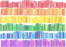 Books - vector illustration. Royalty Free Stock Photo