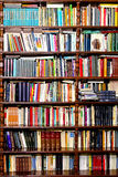books vertical Royaltyfri Bild