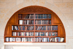 Books wailing wall Royalty Free Stock Photography