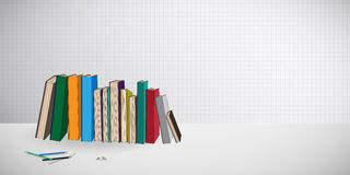 Books wallpaper background Royalty Free Stock Images