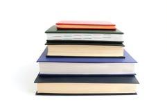 Books on white Royalty Free Stock Photo