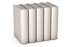 Books on White Stock Images
