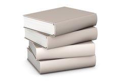 Books on White Stock Photos