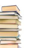 Books on white background Stock Image