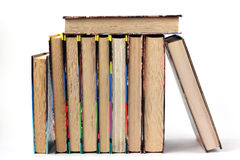 Books. On a white background Stock Images