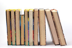 Books. On a white background Royalty Free Stock Image