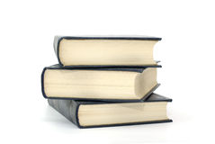Free Books With Flavescent Pages Isolated On White. Royalty Free Stock Photography - 6961017
